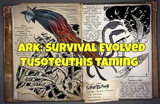 Release the Kraken: Taming Tusoteuthis in ARK | ARK