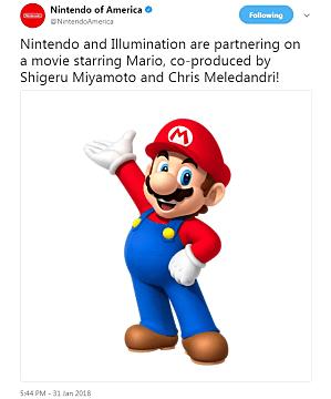 Sadly, no Bob Hoskins in the new Mario movie