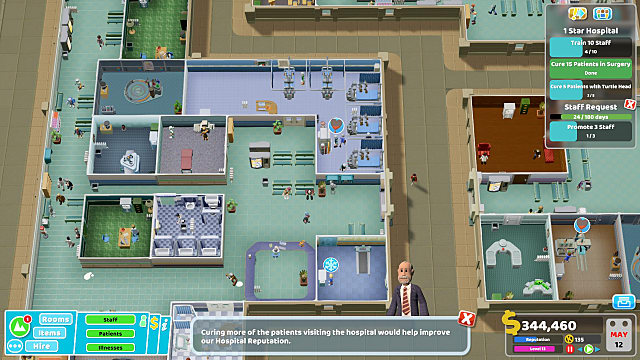 Two Point Hospital Review: More of the Same Is Good | Two Point Hospital
