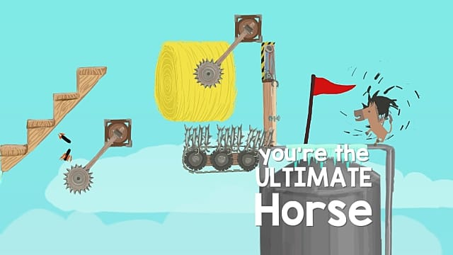 Ultimate Chicken Horse review: A worthy and chaotic addition