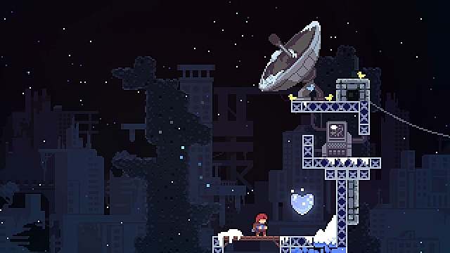 Celeste crystal heart location for chapter 1
