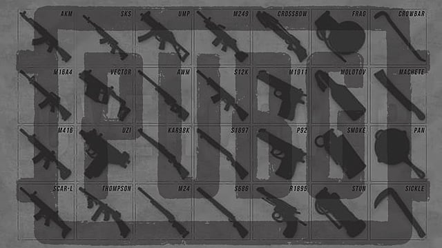 All Weapons and Attachments for PUBG: A Complete, Updated