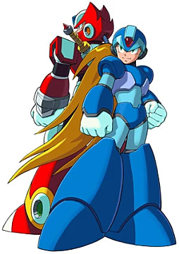 The iconic Mega Man X in all his glory