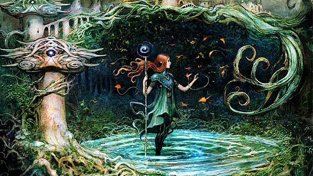 Incubation Druid ~ Ravnica Allegiance Magic MTG Excellent+