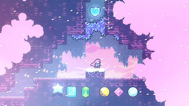 Celeste Chapter 7 crystal heart location