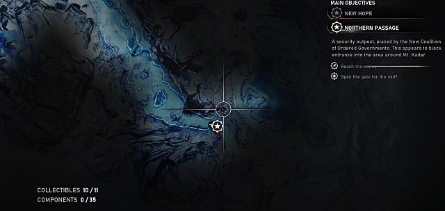 The Enforcer Relic map location in Gears 5
