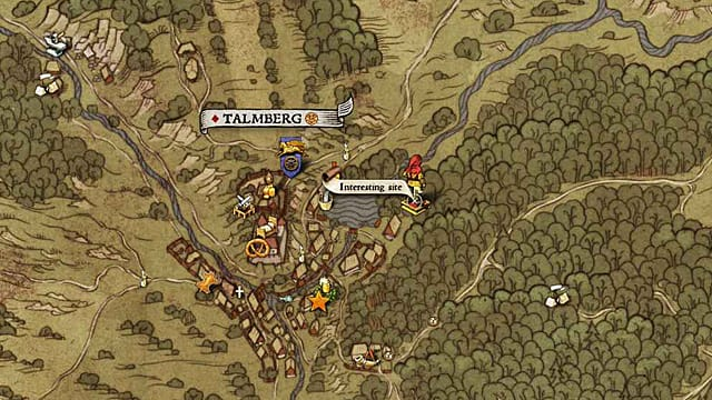 Be careful around the poacher to get this Kingdom Come Deliverance treasure map