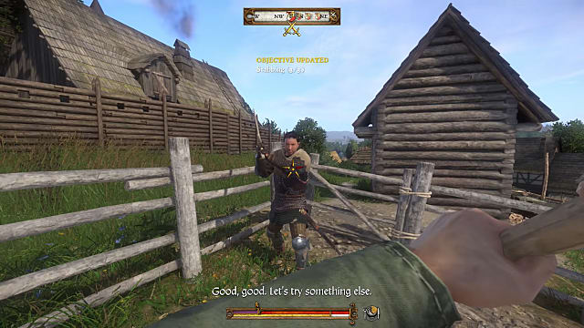 The combat in Kingdom Come Deliverance isn't all that complicated