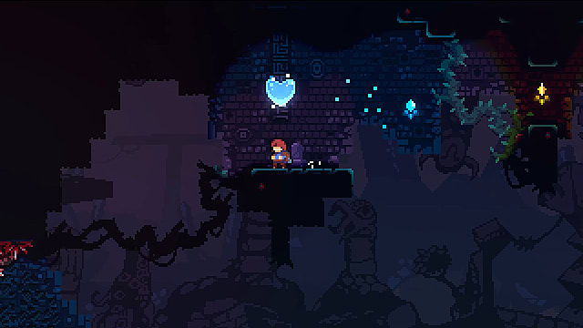 celeste chapter 5 crystal heart location