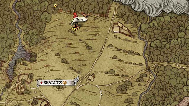 You'll do more digging up of graves to get Kingdom Come Deliverance Treasure Map XXIV