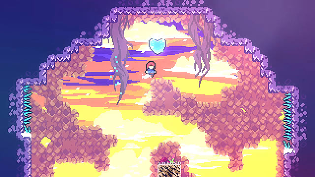 Celeste blue heart for chapter 4