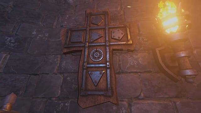 Tell Your Lord all about this cross with symbols