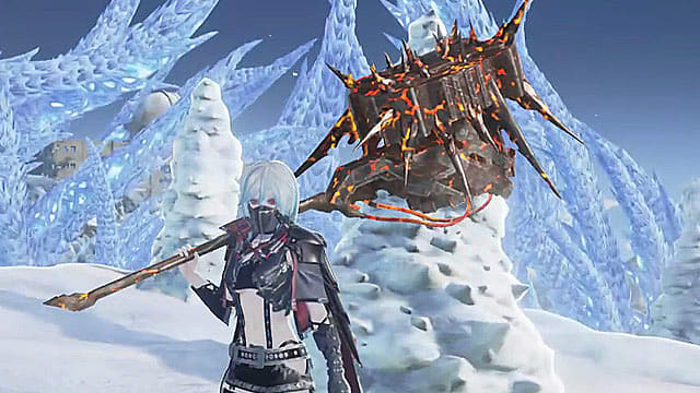 Code Vein Two-Handed Hammer: Burned Warhammer