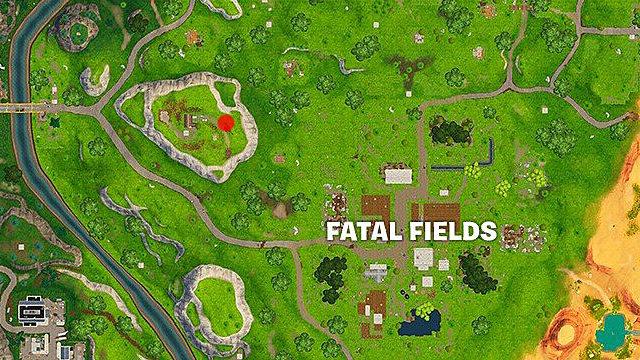 Flush Factory Fortnite Letter Fortnite Season 5 Week 3 Treasure Map Guide Flush Factory Battle Star Location Fortnite