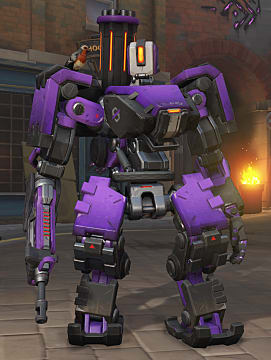 overwatch uprising bastion skin