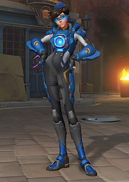 overwatch uprising tracer skin
