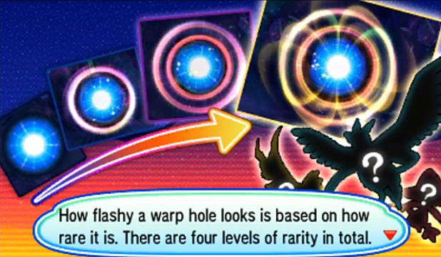 Ultra Wormholes Explained Rarity Levels Pokemon Ultra Sun and Ultra Moon Guides