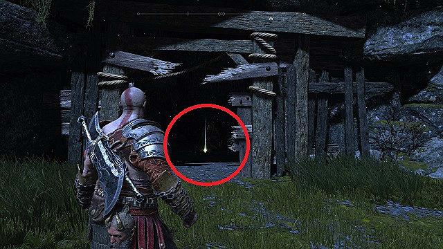Horns of Veithurgard 2 behind a breakable door on the cliff