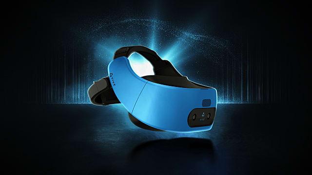 HTC Vive Pro in blue