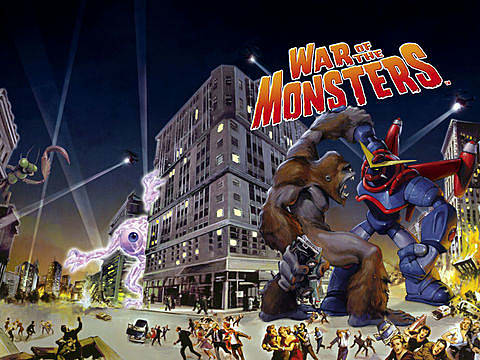 War of the Monsters, poster