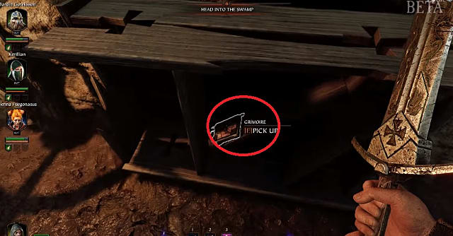 Location of War Camp Grimoire one in vermintide 2