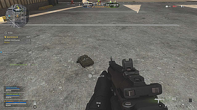 C4 can be found on the ground, in common boxes, and loadout drops in Call of Duty Warzone.