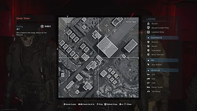 CoD Warzone Fractured Intel 5 Map Location