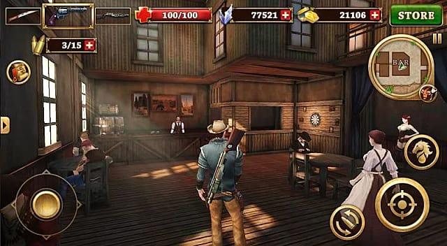 Гайд по игре West Gunfighter - как получить бриллианты, монеты и оружие