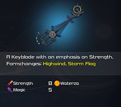 kingdom hearts 3 wheel of fate keyblade