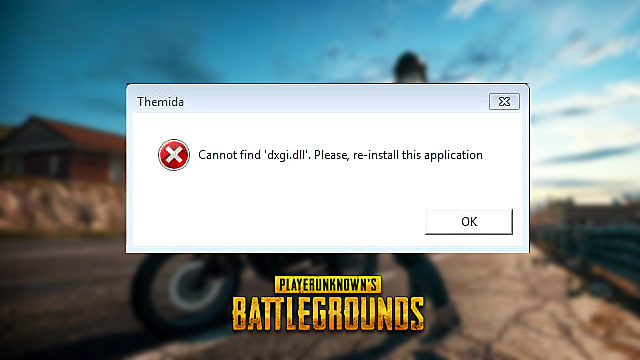 PUBG Cannot Find dxgi dll Fix | PLAYERUNKNOWN'S BATTLEGROUNDS