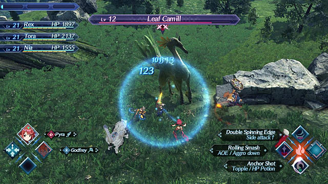 Combat System Basics XC2 Xenoblade Chronicles 2 Guide