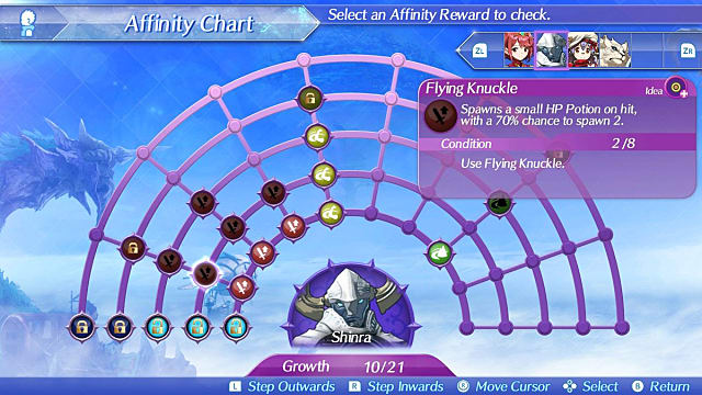 Blade Affinity Chart Core Crystals Xenoblade Chronicles 2 Beginner's Guide Tips