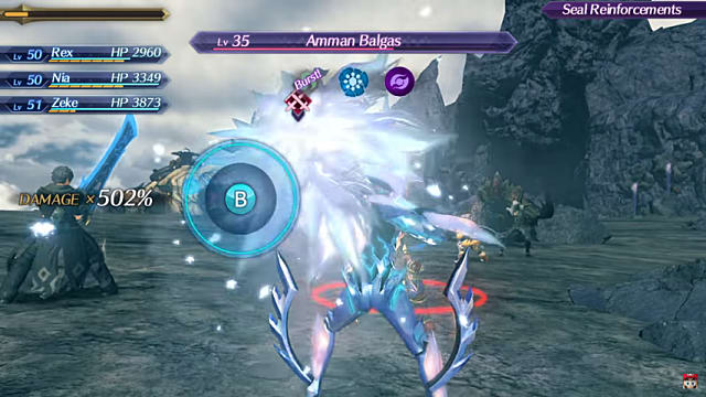 Chain Attacks and Burst Elemental Orbs XC2 Xenoblade Chronicles 2 Guide