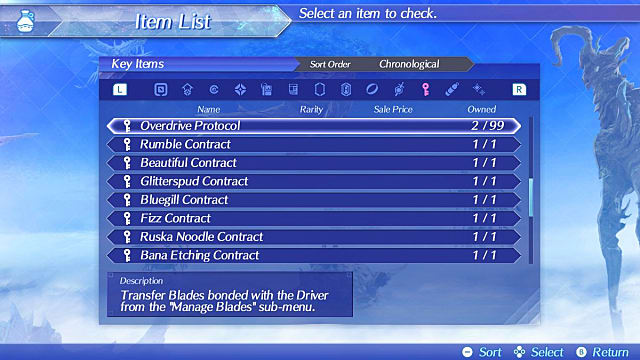 Xenoblade Chronicles 2 Rare Blades Guide How to Transfer Blades Without Overdrive Protocols XC2