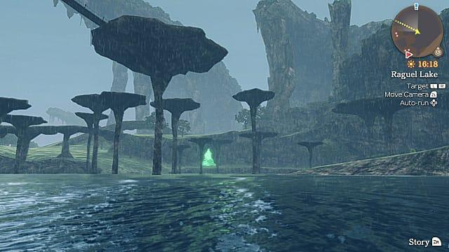 Xenoblade Chronicles thunderstorm signalling White Eduardo.