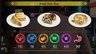 bread over rice food combo in Yakuza 6