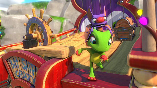 Screenshot of Yooka-Laylee