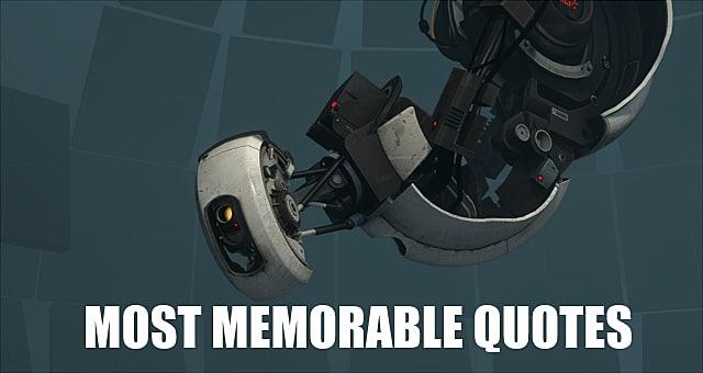 10 Memorable Glados Quotes