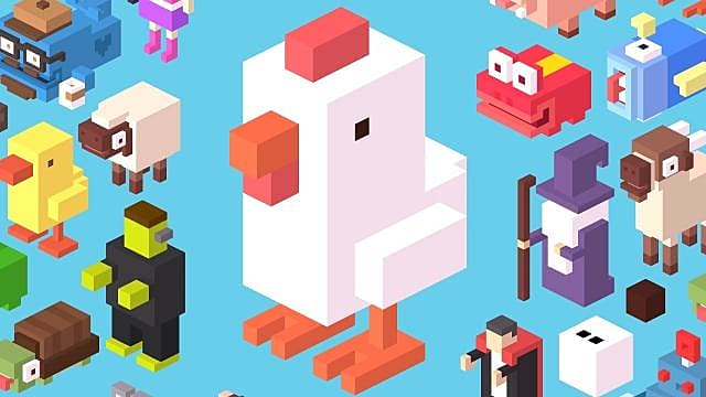 Crossy Road All Characters Unique Effects Crossy Road - crossy road coloring pages
