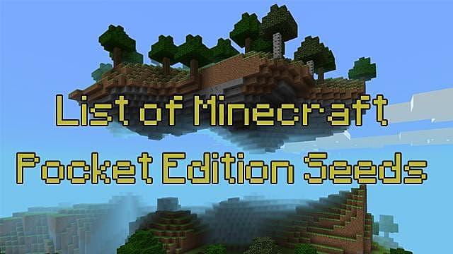 The Best Minecraft PE Seeds For Lazy People On The Go Minecraft - Die besten maps fur minecraft