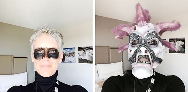 Jamie Lee Curtis attended BlizzCon incognito, donning a