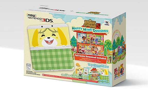 New Nintendo 3DS Happy Home Designer Bundle | Animal Crossing: Happy ...