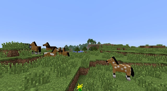 How To Tame A Horse In Minecraft Minecraft
