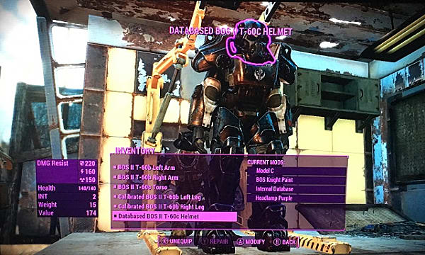 Fallout 4 Guide: Armor and Power Armor Mod Crafting
