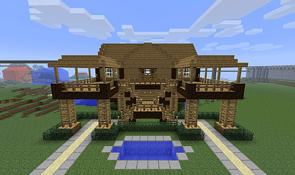 Biggest Minecraft House In The World 2017 the 20 best minecraft seeds for building | minecraft