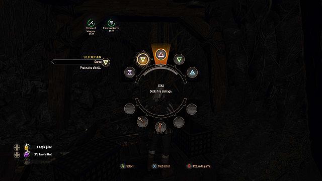 Witcher  Alchemy Sign Build