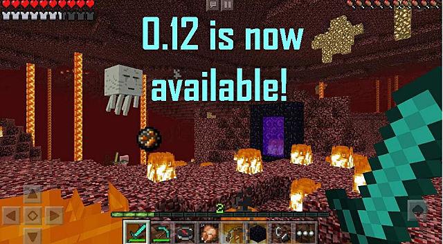 minecraft pe 0.12 3 download