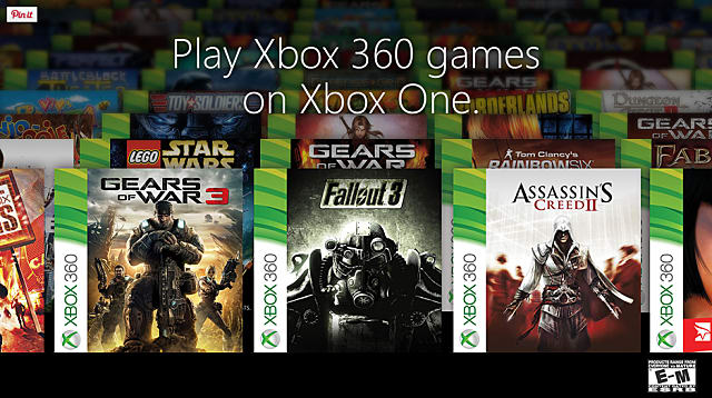 All Xbox Games List : Official list of all backwards compatible xbox one games