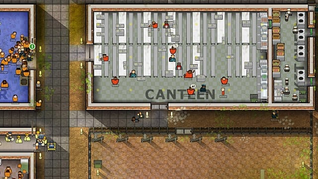 Prison Architect beginner's tip: Dealing with kitchens and