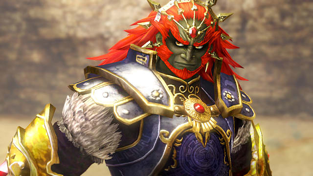 Ganondorf And His New Trident Weapon Featured In Hyrule
